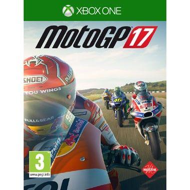 Xbox One MotoGP 17  MotoGP 17 voor de Xbox One brengt de snelheid naar jouw huiskamer. De nieuwste officiële MotoGP-game heeft alle coureurs teams en circuits uit 2017.  EUR 62.99  Meer informatie