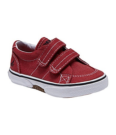 Sperry TopSider Infant Boys Halyard HookandLoop Boat Shoes