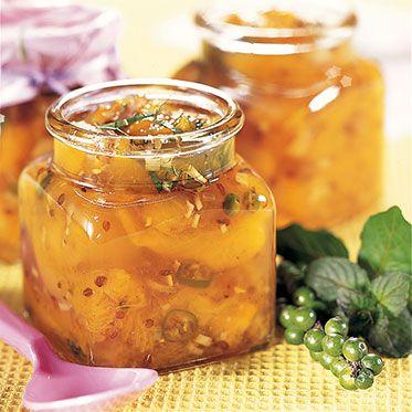 Pfirsich-Chutney Rezept | Küchengötter