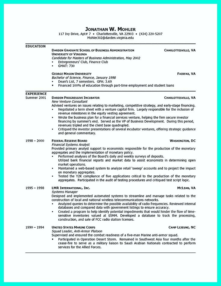17 best ideas about college resume template on pinterest