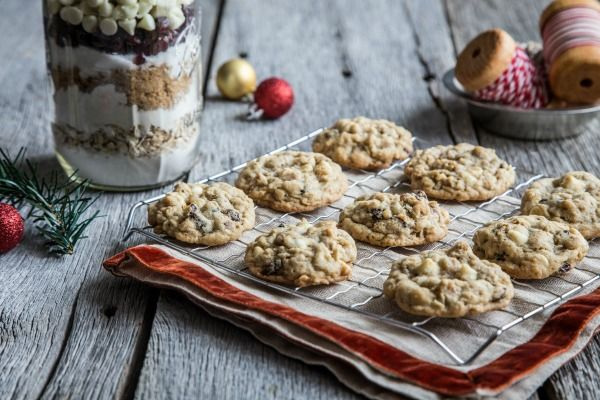 Cranberry Oatmeal Cookies in a Jar Recipe | POPSUGAR Food