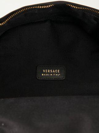 Versace mochila con estampado barroco