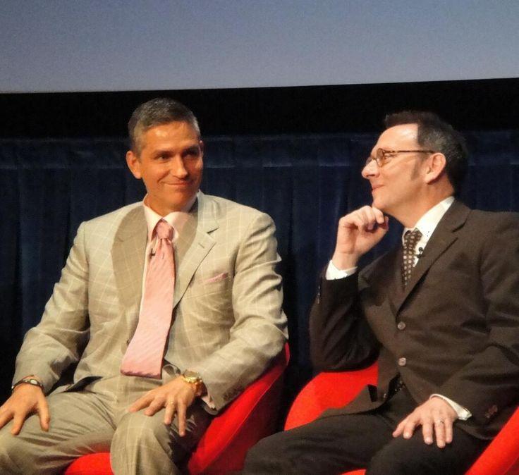 Twitter / poipic_bot: 2011年 プレス発表会にて ジム・カヴィーゼルとマイケル・ ...Jim and Michael.