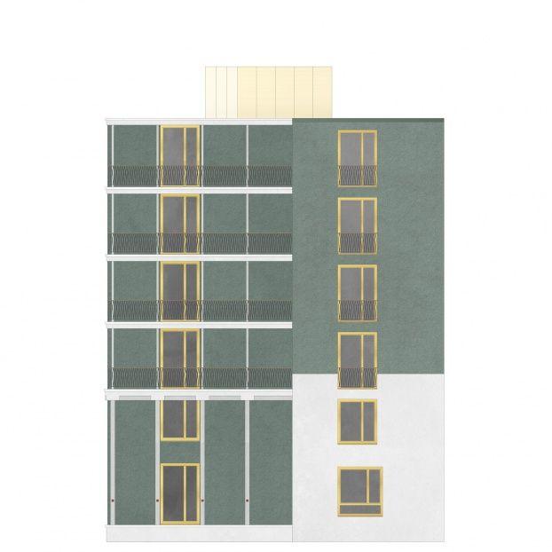 die besten 25 bunte fassadenfarben ideen auf pinterest auffahrt landschaftsbau auffahrt. Black Bedroom Furniture Sets. Home Design Ideas