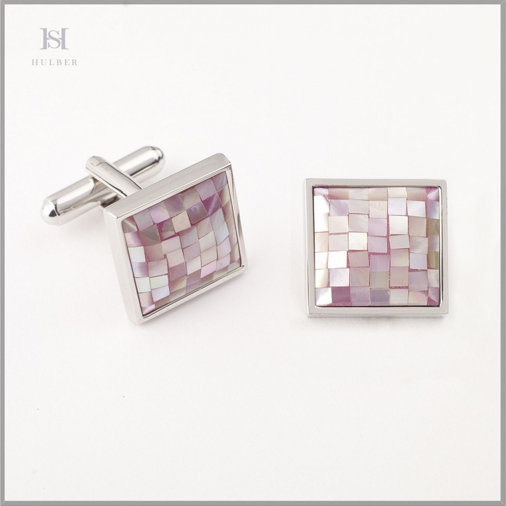 HULBER mother-of-pearl cufflinks