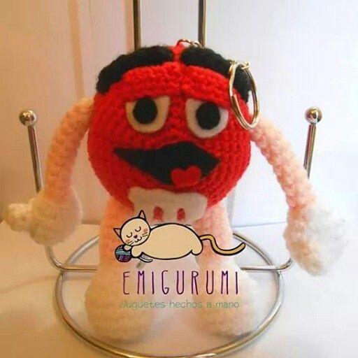 #m&m #amigurumi #hechoamano #knitting #crochet #llavero #handmade #chile