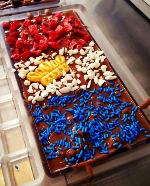 De K(r)oningschocolade van chocstar verkrijgbaar op www.chocstar.nl