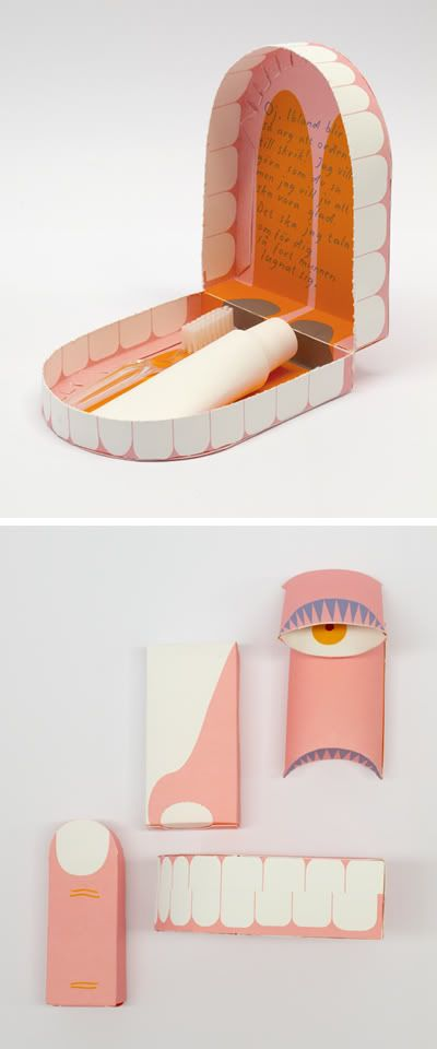 Toothpaste and Toothbrush Packaging fir Barnes Apotek, Designed by Emmelie Abiewski.