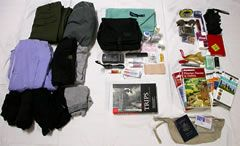 """The Ultimate Packing List:  """"What to pack for a trip, how much to bring on your travels, and how to fit it all in a single carry-on with room left over for souvenirs"""""""