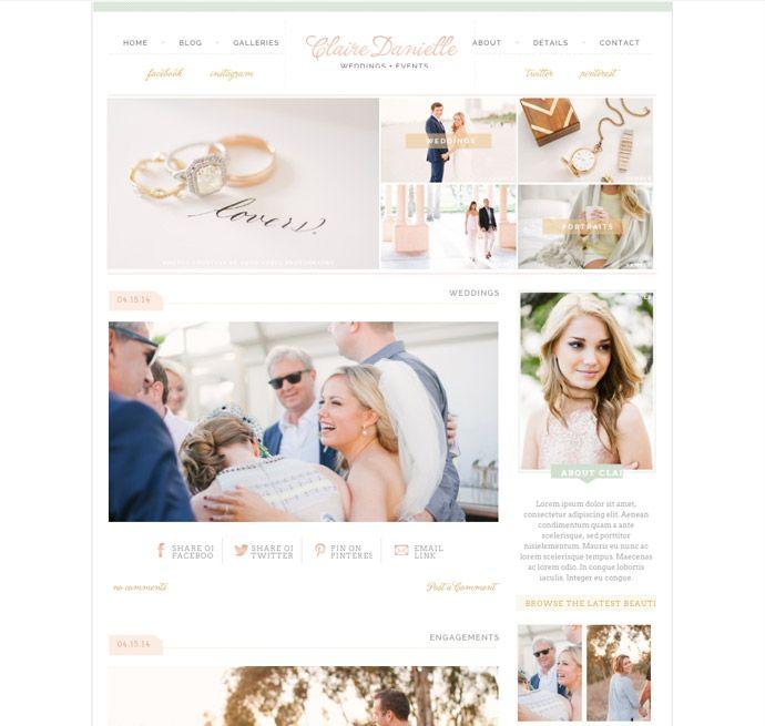 Pro Photo Blog Templates. 15 best free personal blog wordpress ...