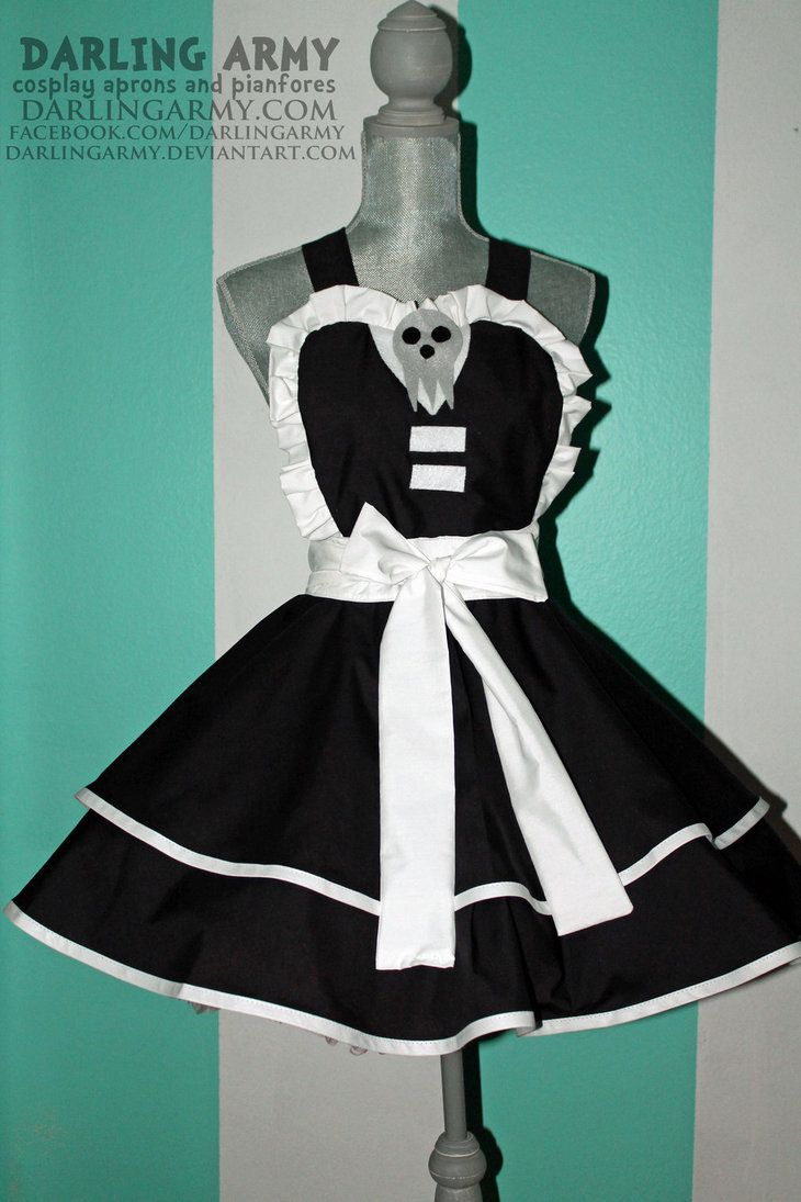 Blue apron kidd - Death The Kid Soul Eater Cosplay Pinafore By Darlingarmy On Deviantart