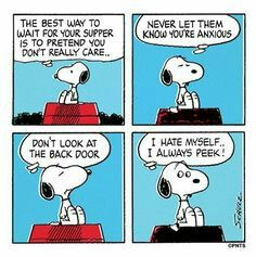 #thepeanuts #pnts #schulz #snoopy #supper