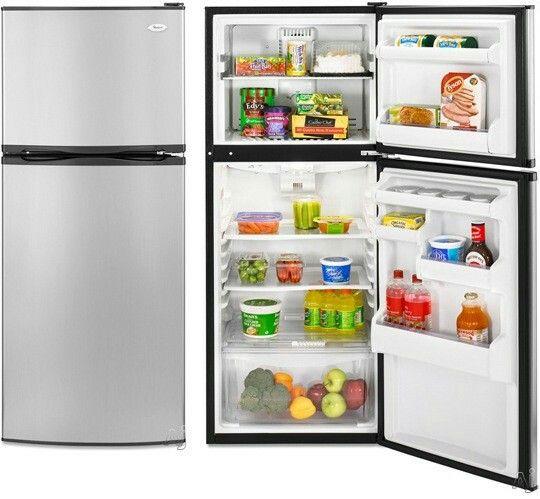 Whirlpool Top Freezer Refrigerator   $459 At AJ Madison. 10 Cubic Feet, 24. Small  RefrigeratorMini FridgeCounter Depth ...