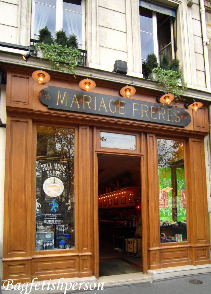 Mariage Freres: Maison Le Marias 30 rue du Bourg-Tibourg 4th district (J16) Metro: Hotel De Ville