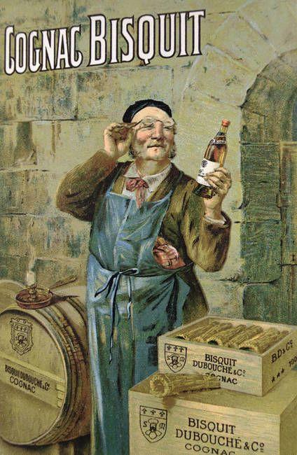 Cognac Bisquit pre-War sign.