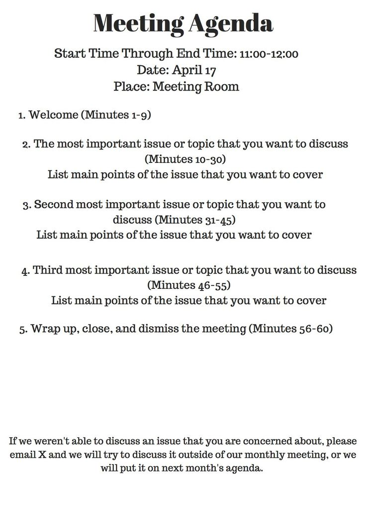 93 best 9 to 5 images on Pinterest Learning, Meeting agenda - agenda template example