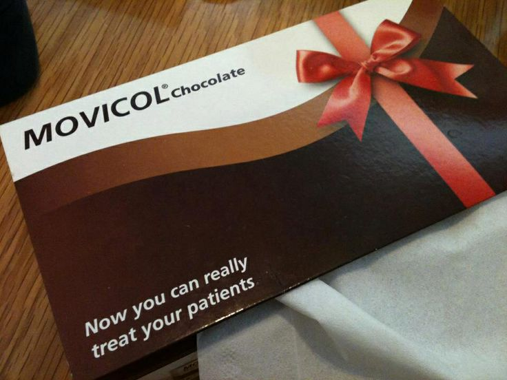 Chocolate for that special patient