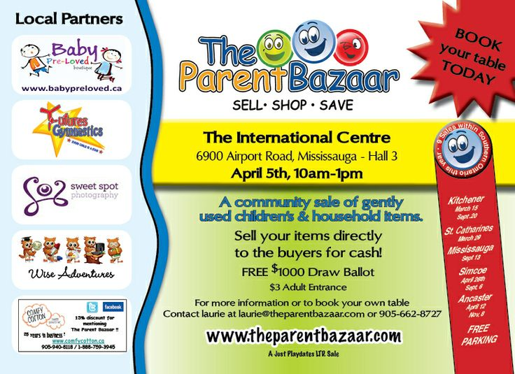 Visit the Made by Hand booth at the Parent Bazaar on April 5th at the International Centre.