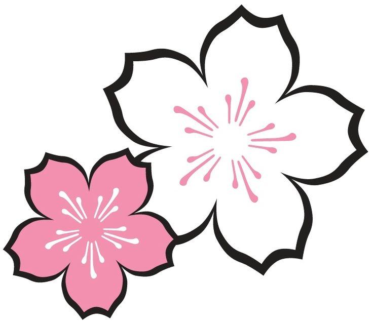Flower Dibujo: Flor De Cerezo [logo]