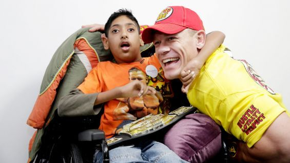 John Cena grants Rahim's wish in Brighton: photos | #WWE Community