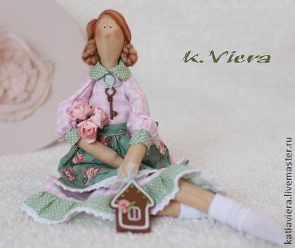 Тильда домохозяйка Валентина - тильда,кукла ручной работы,кукла Тильда