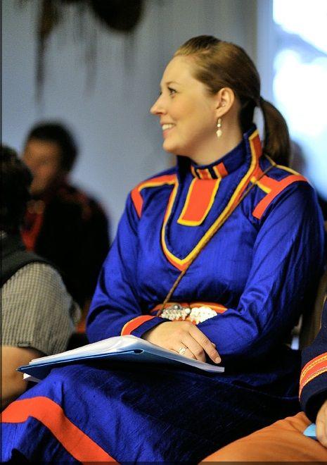Helena Morén med gällivarekolt med holbbi