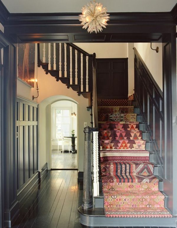 58 best Escaliers images on Pinterest Stair runners, Staircase - tapis pour escalier interieur