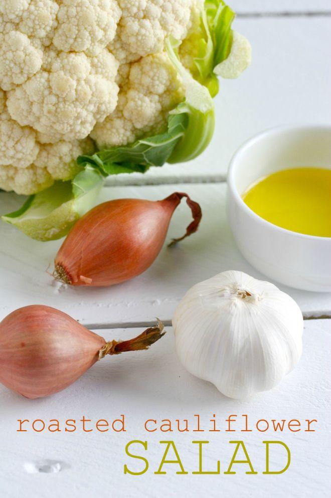 roasted cauliflower salad | Low Carb Ideas | Pinterest