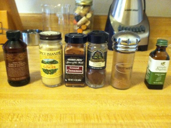 Home made coffee flavoring