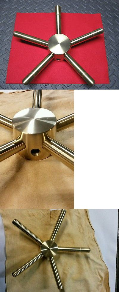 Other Hunting Gun Storage 159038: Gun Safe Vault Handle /Beefy / 5 Spoke/ Retrofit Solid Brass For Std 1/2 Shaft BUY IT NOW ONLY: $158.99