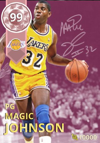 f08d4c1cb8f 1) magic johnson - NBA 2K18 Custom Card - 2KMTCentral