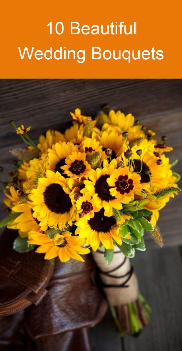 10 Beautiful Wedding Bouquets