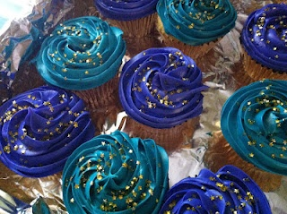My Jasmine cupcakes for Kendal's 5th birthday!