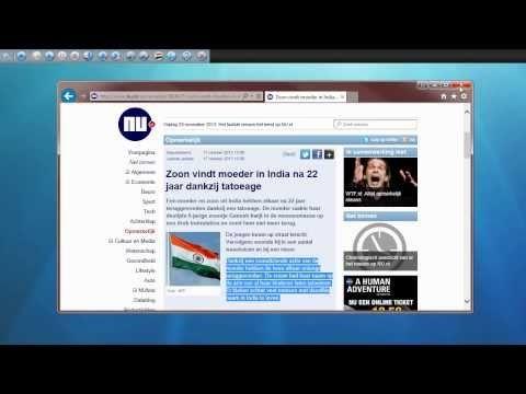 L2S - De hoofdfuncties (bekijk dit filmpje eerst) - www.L2S.nl Ondersteuning bij het lezen op de computer. Erg makkelijk in het gebruik en goed betaalbaar.