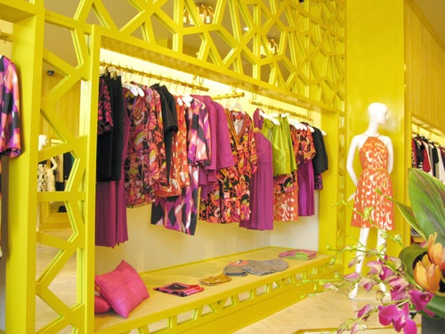 @Rachel Daniel Madden When we have our store, we could do this, recessed lights hidden above the clothes racks.