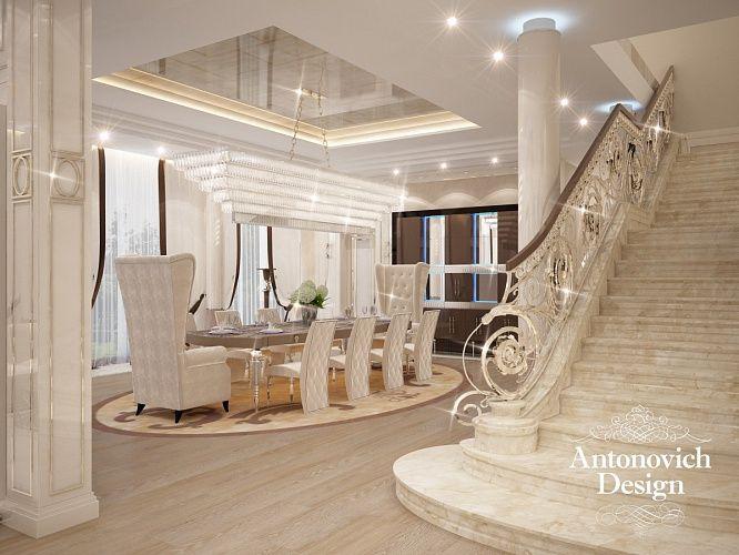 Дизайн холла. Безупречный вкус и несомненный талант архитекторов и декораторов нашел отражение в этом роскошном интерьере. Дизайнеры наполнили два этажа здания непередаваемым и прекрасным настроением роскоши и комфорта.