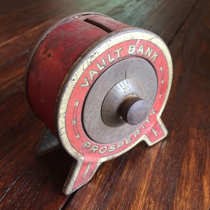 The 25 best antique safe ideas on pinterest safe vault for Large piggy bank with lock