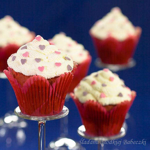 Babeczki Red Velvet / Red Velvet Cupcakes