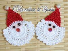 Arte Índia: Papai Noel em Crochê - Passo a Passo - Amigurumi