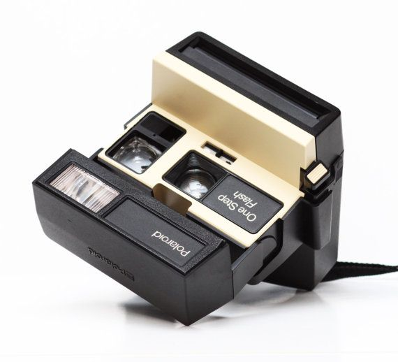 Polaroid One Step Flash Ivory Instant 600 Film by LePhotographeNY