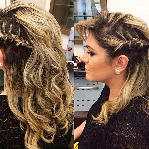 penteados laterais para casamento - Pesquisa Google