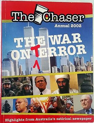 The Chaser Annual 2002 The War on (T)Error FREE AUST POST very good used cond PB
