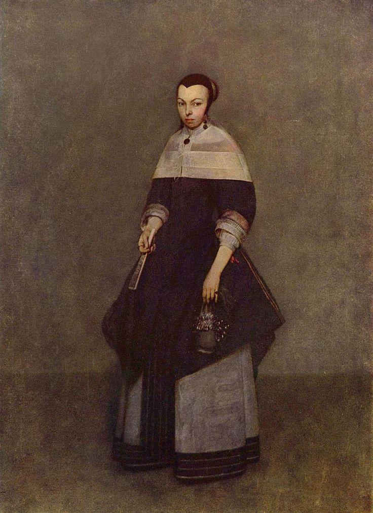 Портрет дамы Герард Терборх