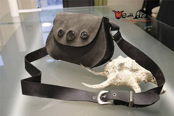 Hey, I found this really awesome Etsy listing at https://www.etsy.com/ca/listing/584518747/black-gray-italian-leather-purse-with