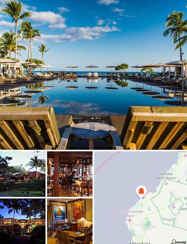 Este complejo está situado en la exclusiva costa de Kona-Kohala, en la Gran Isla de Hawái y ofrece un lugar retirado sin estar aislado.