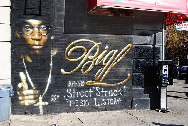 Big l mural in harlem people who inspire pinterest for Big pun mural bronx