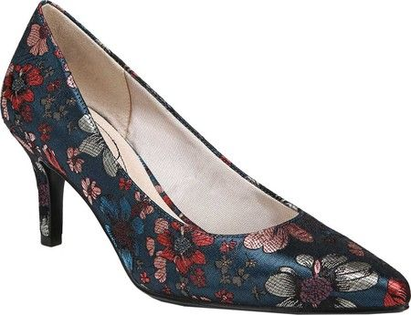 da183c2afd4 Women s Life Stride Sevyn Pump - Navy Multi Fabric with FREE Shipping  amp   Exchanges.