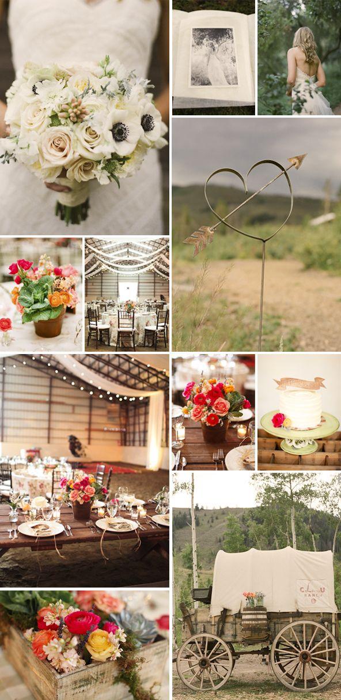 ideas para una romntica boda en el campo