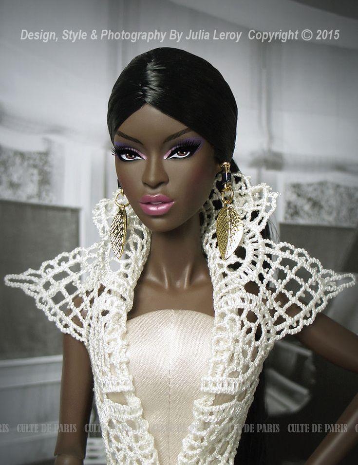 Глэм матовый кружева модные детективной мусульманского де пари для fashion royalty   Куклы и мягкие игрушки, Куклы, По бренду, компании, персонажу   eBay!