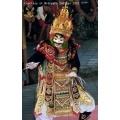 Jauk/Sandaran dance costume complete set